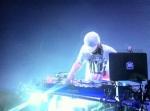 DJ Bobby B (Kottonmouth Kings) spinning on his custom setup