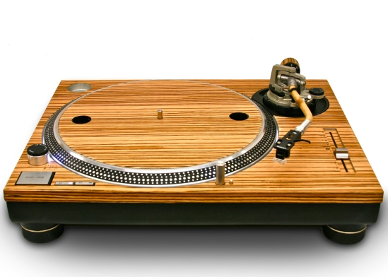 Technics Zebra Wood 1200