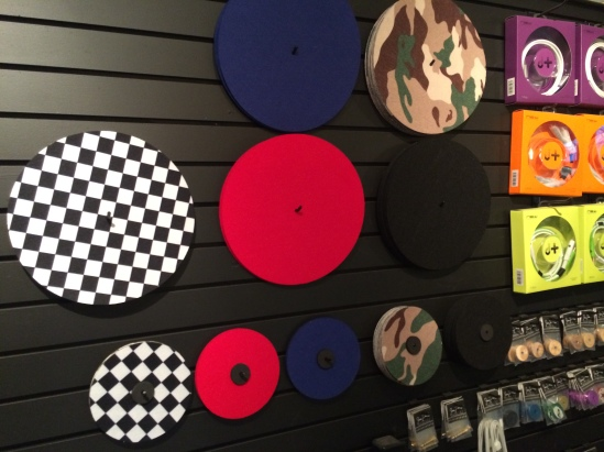 We have Slip mats. Simple and Clean!