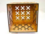 4 Cross 45rpm 7in wood Crate
